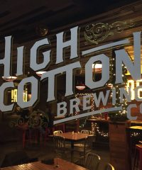 High Cotton Brewing Co. Taproom