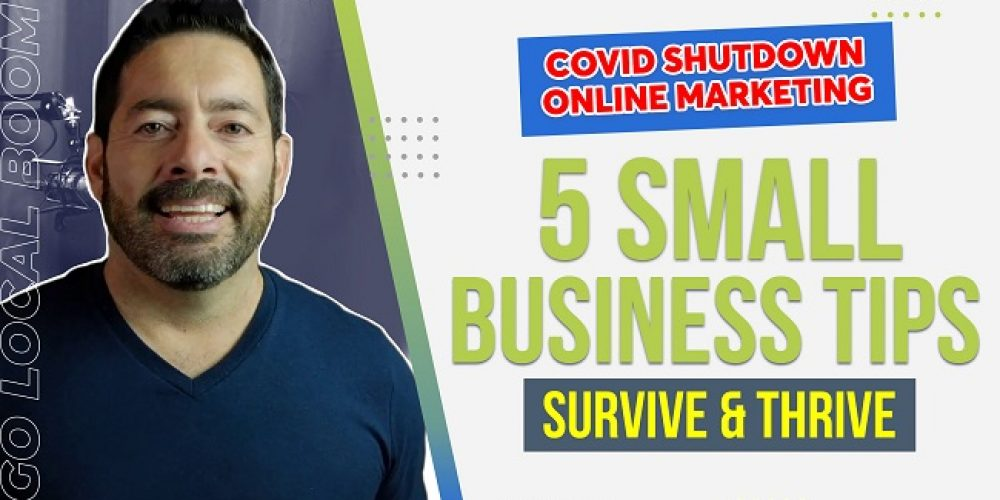 Survive & Thrive   Digital Marketing Strategies For Small Business During Shutdowns