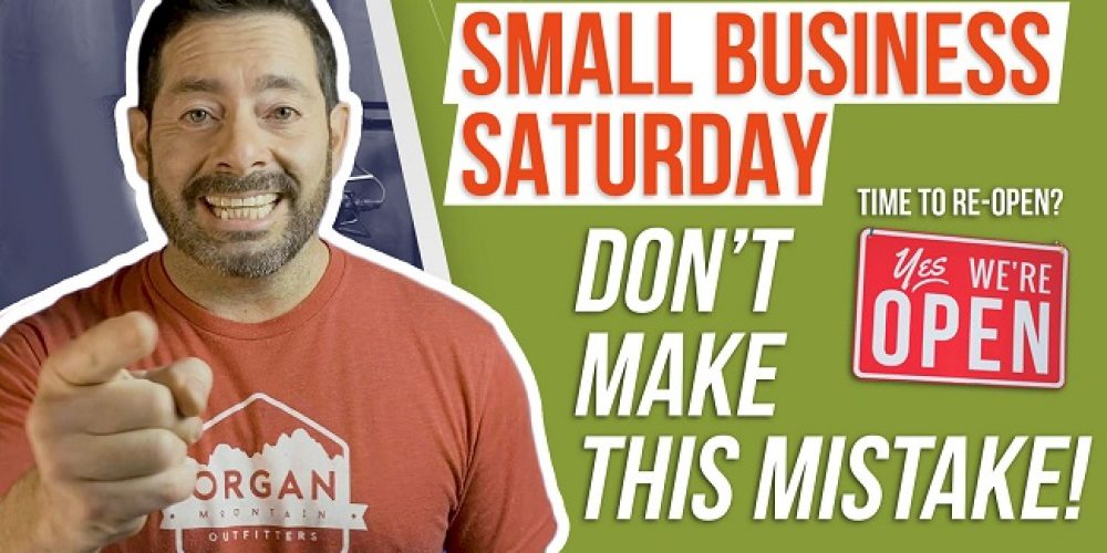Top Mistakes Businesses Make | Small Business Saturday | Small Business Mistakes To Avoid 2021
